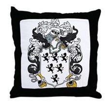 Savage Family Crest Throw Pillow