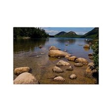 Unique Mt desert island Rectangle Magnet (10 pack)