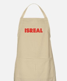 Retro Isreal (Red) BBQ Apron