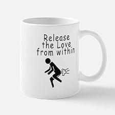 releaseTheLove Mugs