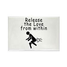 releaseTheLove Magnets
