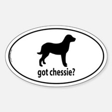 Got Chessie? Oval Decal