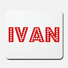 Retro Ivan (Red) Mousepad