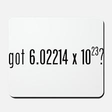 got Avogadro's Number? Mousepad