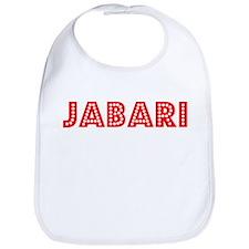 Retro Jabari (Red) Bib