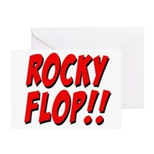 Rocky Flop! Greeting Card