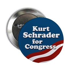Kurt Schrader for Congress campaign button