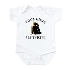 Yoga Girls Get Twisted Infant Bodysuit