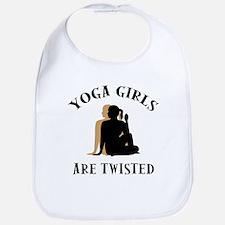 Yoga Girls Get Twisted Bib