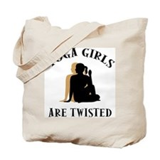 Yoga Girls Get Twisted Tote Bag