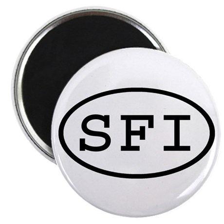 SFI Oval Magnet