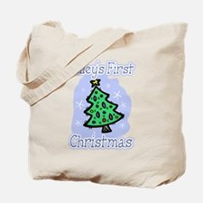 Riley's First Christmas Tote Bag
