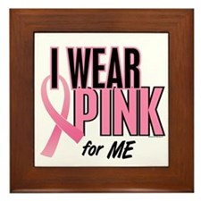 I Wear Pink For ME 10 Framed Tile