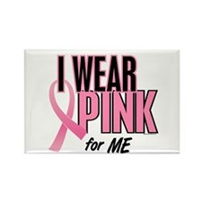 I Wear Pink For ME 10 Rectangle Magnet (10 pack)