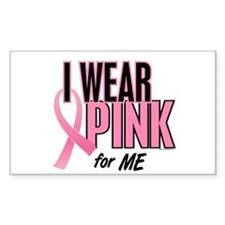 I Wear Pink For ME 10 Rectangle Sticker 10 pk)