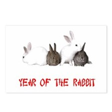 Year of the Rabbit Postcards (Package of 8)