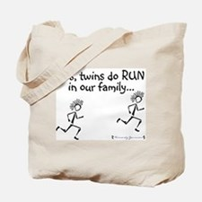 Yes, Twins do RUN in the Fami Tote Bag