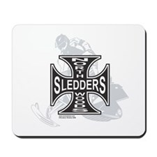 North Woods Ssledders - Snowm Mousepad