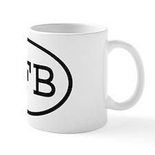 SFB Oval Mug