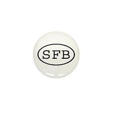 SFB Oval Mini Button (10 pack)