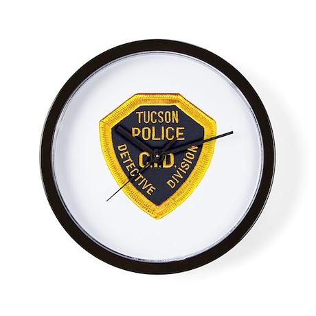 Tucson CID Wall Clock