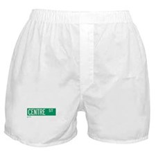 Centre Street in NY Boxer Shorts