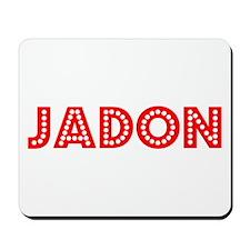 Retro Jadon (Red) Mousepad