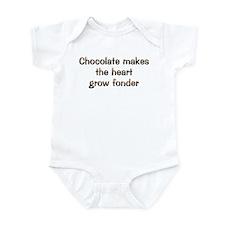 CW Chocolate Makes Onesie