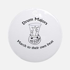 Drum Majors March To Their Own Beat Ornament (Roun