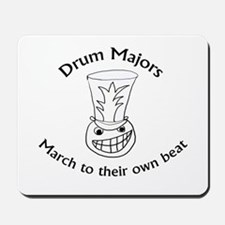 Drum Majors March To Their Own Beat Mousepad
