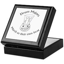 Drum Majors March To Their Own Beat Keepsake Box