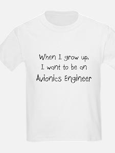 When I grow up I want to be an Avionics Engineer K