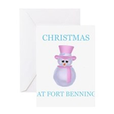fort benning Greeting Card