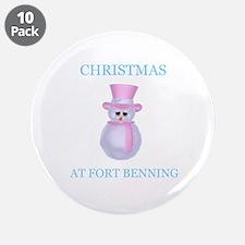 """fort benning 3.5"""" Button (10 pack)"""