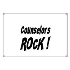 Counselors Rock ! Banner