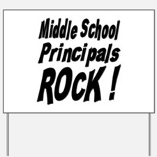 Funny Middle school Yard Sign