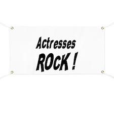 Actresses Rock ! Banner