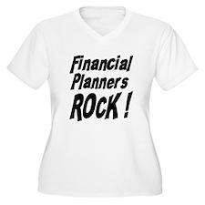 Financial Planners Rock ! T-Shirt