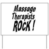 Massage therapist Yard Signs