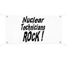 Nuclear Technicians Rock ! Banner