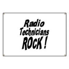 Radio Techs Rock ! Banner