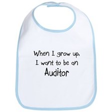 When I grow up I want to be an Auditor Bib