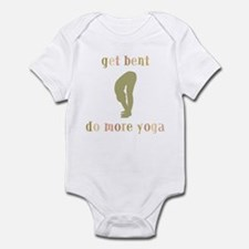 Get Bent Do More Yoga Infant Bodysuit
