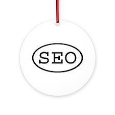 SEO Oval Ornament (Round)