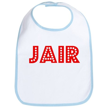 Retro Jair (Red) Bib
