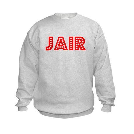Retro Jair (Red) Kids Sweatshirt