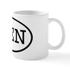 SEN Oval Mug