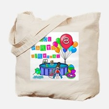 Pool Party 8th Birthday Tote Bag