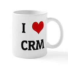 I Love CRM Small Mug