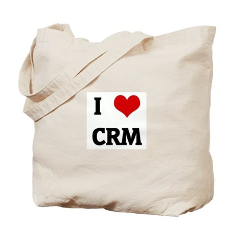 I Love CRM Tote Bag